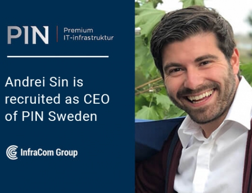 Andrei Sin is recruited as CEO of PIN Sweden