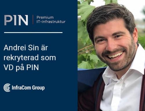 Andrei Sin är rekryterad som VD till PIN