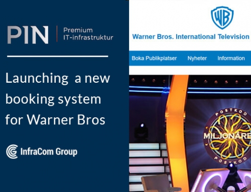 PIN launches a new booking system for Warner Bros
