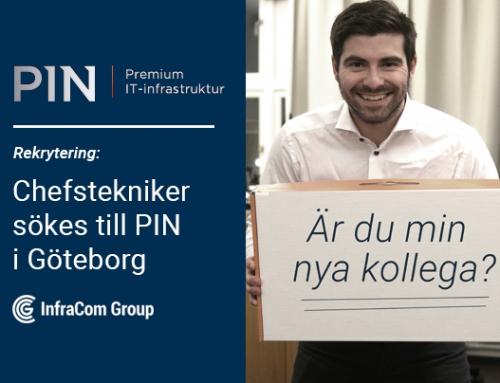 Chefstekniker sökes till PINs Driftorganisation i Göteborg