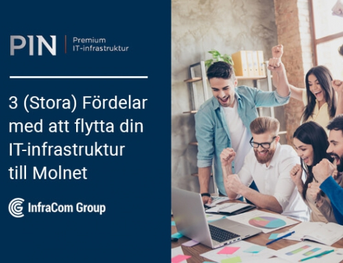 3 [Stora] Fördelar med att flytta företagets IT till Molnet