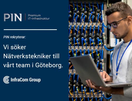 Nätverkstekniker till PIN Sweden i Göteborg