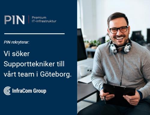Supporttekniker till PIN Sweden i Göteborg